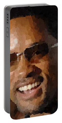 Will Smith Portrait Portable Battery Charger