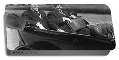 Willam Taft And Charles Hughes Portable Battery Charger