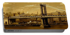 Williamsburg Bridge New York City Portable Battery Charger