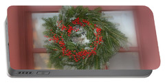 Williamsburg Wreath Portable Battery Charger
