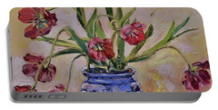 Wilting Tulips Portable Battery Charger