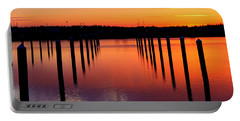 Winchester Bay Sunset Portable Battery Charger