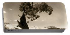 Wind Swept Tree Portable Battery Charger