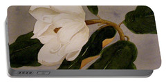 Windblown Magnolia Portable Battery Charger