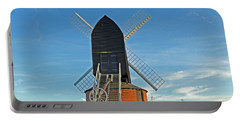 Windmill At Brill Portable Battery Charger