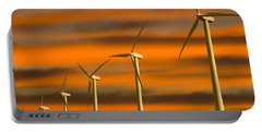 Windmill Farm Portable Battery Charger