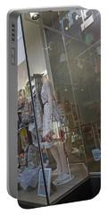 Window--dublin Ireland Portable Battery Charger