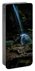 Portable Battery Charger featuring the photograph Window Falls by Jessica Brawley