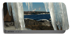 Portable Battery Charger featuring the photograph Window Into Minnesota by James Peterson