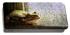 Windowsill Visitor Portable Battery Charger