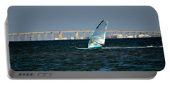 Windsailing By Jfk Causeway Portable Battery Charger