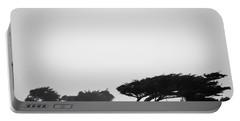 Windswept Shoreline Portable Battery Charger by Melinda Ledsome