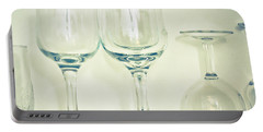 Wine Glasses Portable Battery Charger