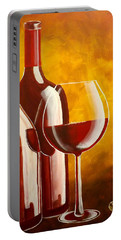 Wine Not Portable Battery Charger by Darren Robinson