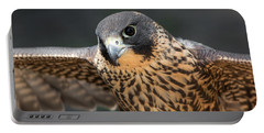 Winged Portrait Portable Battery Charger by Dale Kincaid