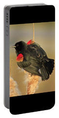 Portable Battery Charger featuring the photograph Wings In A Golden Light 2 by Chris Anderson