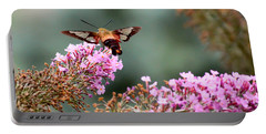 Wings In The Flowers Portable Battery Charger by Kerri Farley