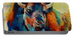 Winter Bison Portable Battery Charger