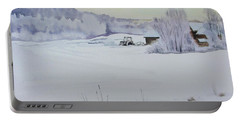 Winter Blanket Portable Battery Charger