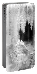 Winter Cave Portable Battery Charger by Jeannette Hunt