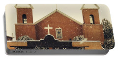 Winter Church Portable Battery Charger