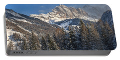 Winter Dolomites Portable Battery Charger