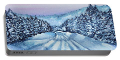 Winter Drive Portable Battery Charger by Shana Rowe Jackson