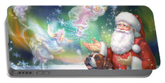 Winter Fairies Portable Battery Charger