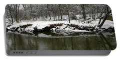 Winter Forest Series 2 Portable Battery Charger by Verana Stark