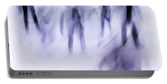 Portable Battery Charger featuring the photograph Winter Illusions On Ice - Series 2 by Steven Milner