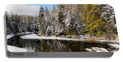 Portable Battery Charger featuring the photograph Winter Impressions ... by Juergen Weiss