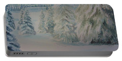 Winter In Gyllbergen Portable Battery Charger by Martin Howard