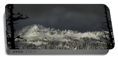 Winter In North Cascades Portable Battery Charger by Yulia Kazansky