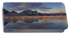 Winter In The Salt Flats Portable Battery Charger