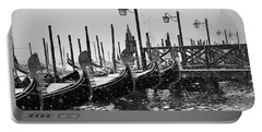 Winter In Venice Portable Battery Charger