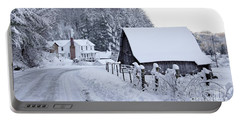 Winter In Virginia Portable Battery Charger by Benanne Stiens