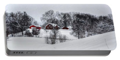 Winter Landscape 5 Portable Battery Charger