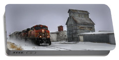 Winter Mixed Freight Through Castle Rock Portable Battery Charger