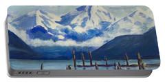 Winter Mountains Alaska Portable Battery Charger