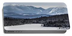 Winter Mountains Portable Battery Charger