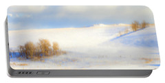Winter Poplars Portable Battery Charger