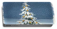 Winter Scene Iv Portable Battery Charger