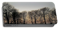 Winter Skyline Portable Battery Charger by Richard Brookes