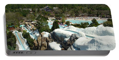 Portable Battery Charger featuring the photograph Winter Slides by David Nicholls