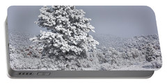 Portable Battery Charger featuring the photograph Winter Solitude by Diane Alexander