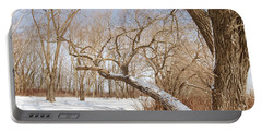 Winter Solitude Portable Battery Charger