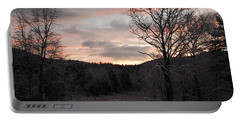 Portable Battery Charger featuring the photograph Winter Sunrise by Mim White