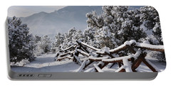 Winter Trail Beckons Portable Battery Charger