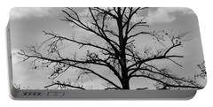 Portable Battery Charger featuring the photograph Winter Tree by Andrea Anderegg
