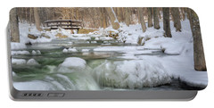 Portable Battery Charger featuring the photograph Winter Water by Bill Wakeley